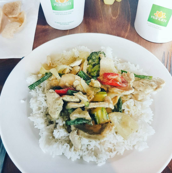 Green curry Kanum